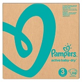 "Подгузники Pampers ""Active Baby"", миди (6-10 кг), 208шт. (ПОД ЗАКАЗ)"