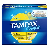 "Тампоны Tampax ""Compak Regular"", 16шт. (ПОД ЗАКАЗ)"