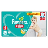"Подгузники-трусики Pampers ""Pants"", макси (9-15 кг), 104шт. (ПОД ЗАКАЗ)"
